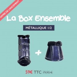 La Box Metallic - Bleu