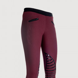Pantalon Starlight bordeaux
