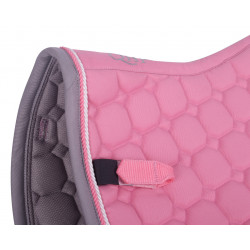 Tapis de selle shetty rose QHP