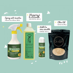 Le pack soins Anti-insectes
